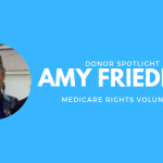 Donor Spotlight: Amy Friedner, Volunteer
