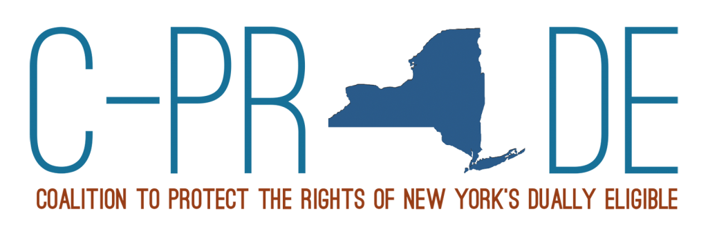 Coalition to Protect the Rights of New York's Dually Eligible